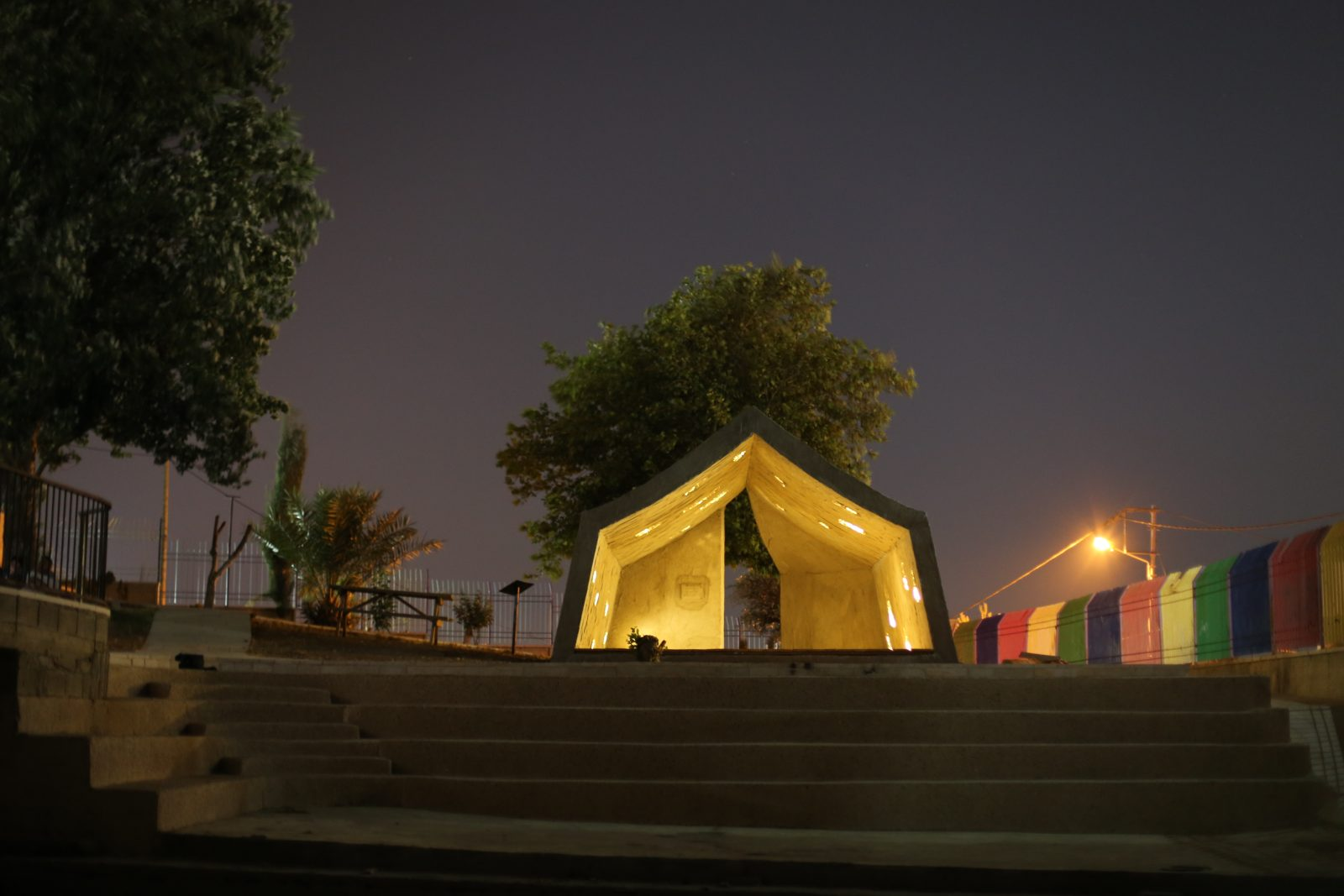 Photo by Sara Anna. The Concrete Tent ... & Concrete Tent u2013 DAAR